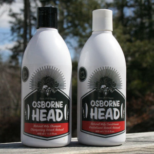 Osborne Head shampoo and conditioner